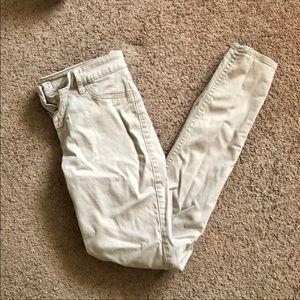Hollister Khaki Skinny Pants